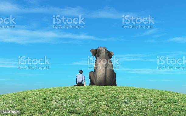 The man with elephant picture id612378894?b=1&k=6&m=612378894&s=612x612&h=pnn0ci2e7vbscooazjsiqhwsjw2enrewwgnoe8fv4nu=