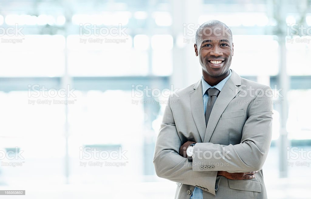 The man you need for your business ventures - Copyspace stock photo
