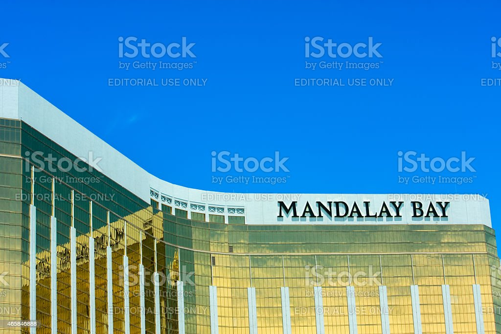 The Mandalay Bay Resort and Casino in Las Vegas stock photo