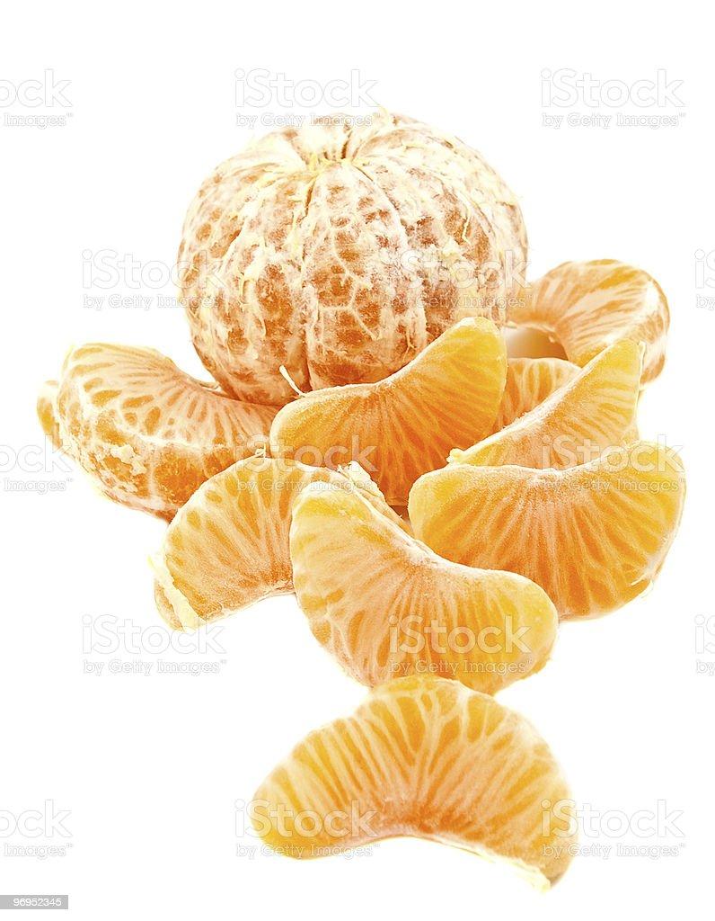 The mandarine royalty-free stock photo