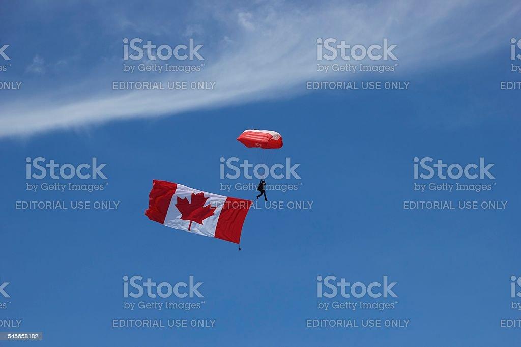 The Maple Leaf stock photo