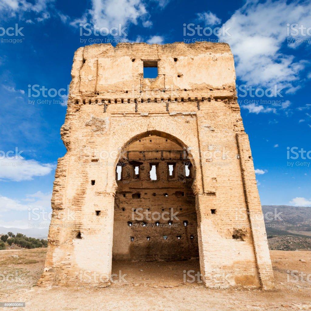 The Marinid Tombs stock photo