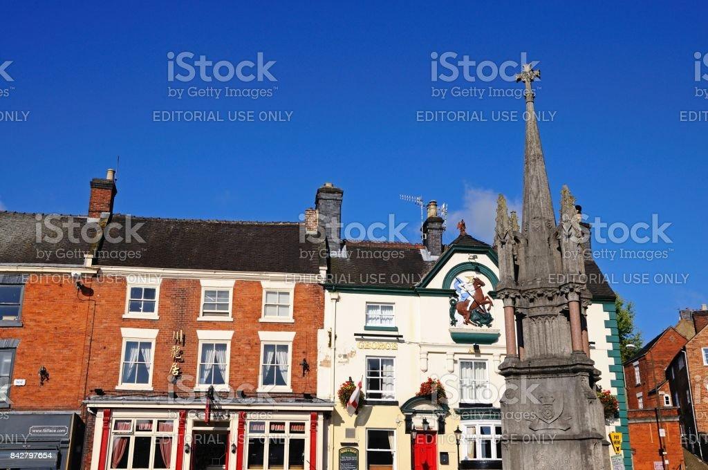The Market Cross, Ashbourne. stock photo