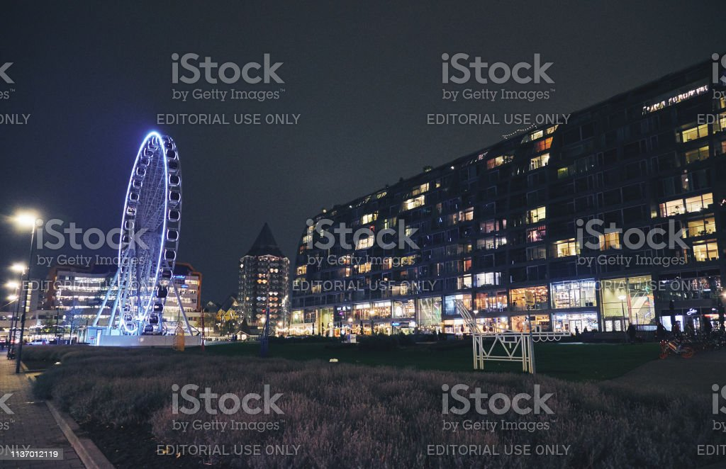 ROTTERDAM, NETHERLANDS - NOVEMBER 20, 2018: The Market Hall is a...