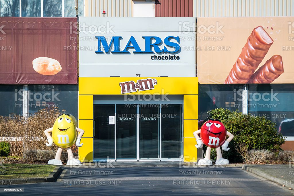 The MARS headquarter stock photo