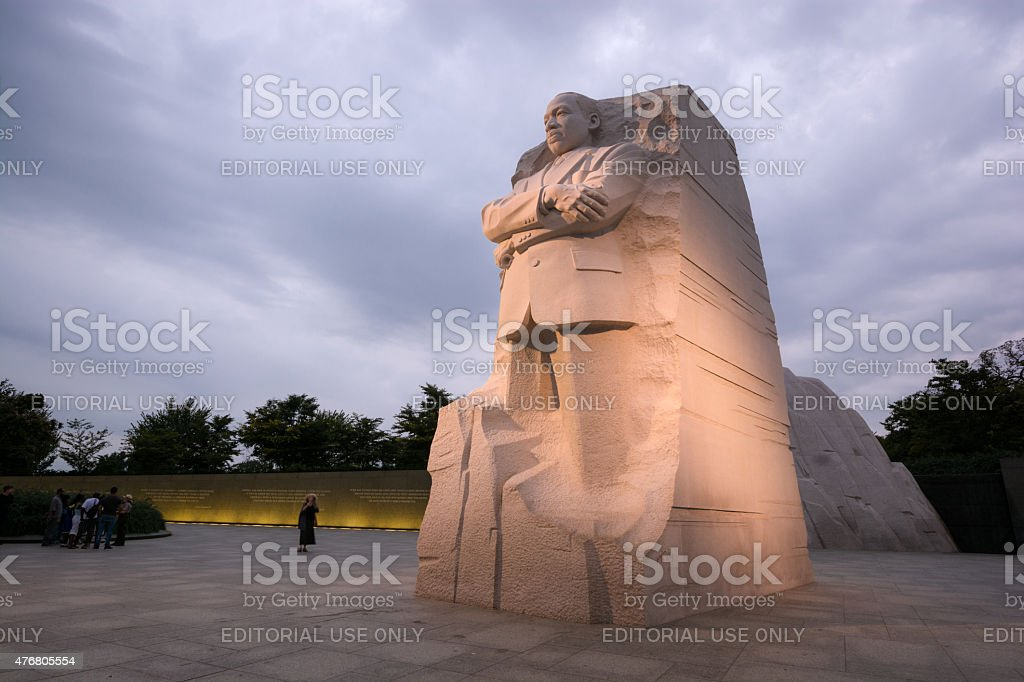 The Martin Luther King, Jr. Memorial located in Washington, DC stock photo