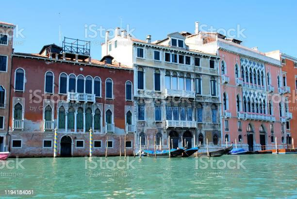 The marvelous Venetian architecture (Venice, Italy)