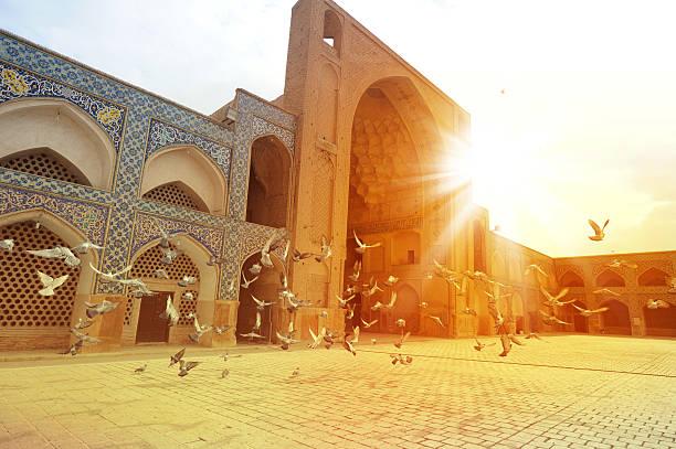 masjid-ich jami, isfahan, iran - iranische stock-fotos und bilder