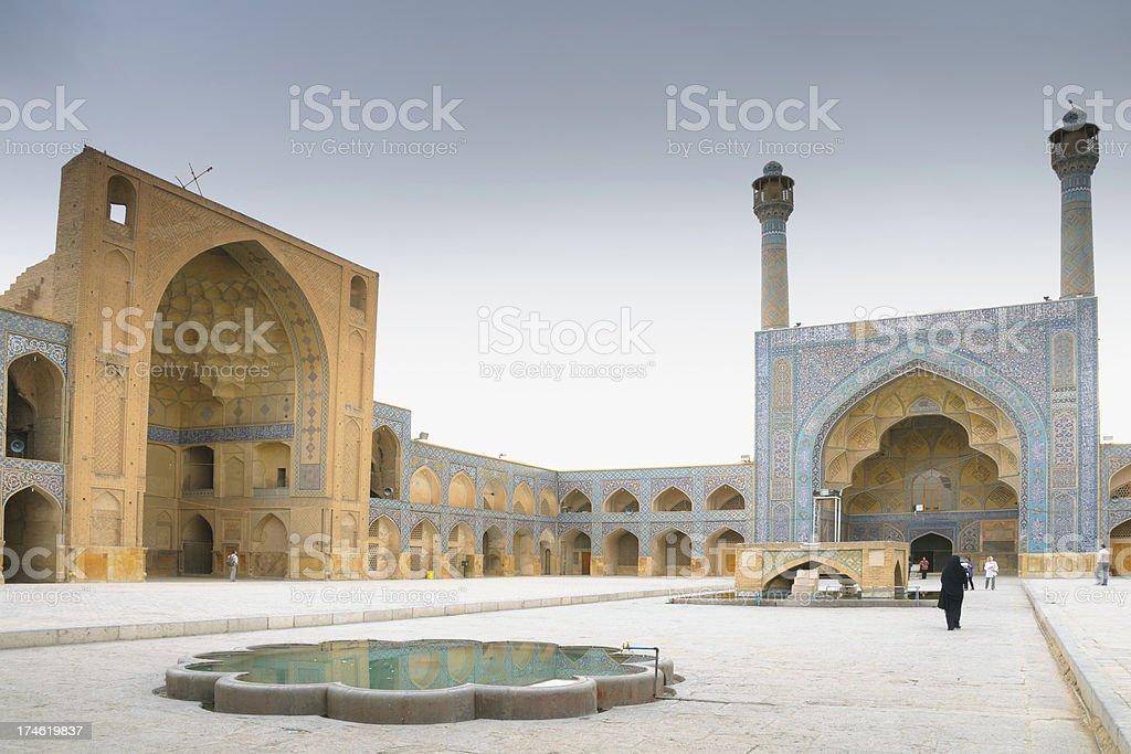 The Masjid-i Jami, Isfahan, Iran stock photo