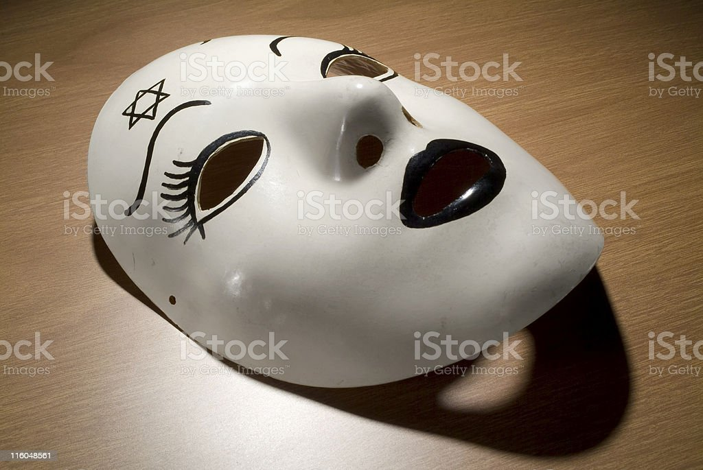 The Mask royalty-free stock photo