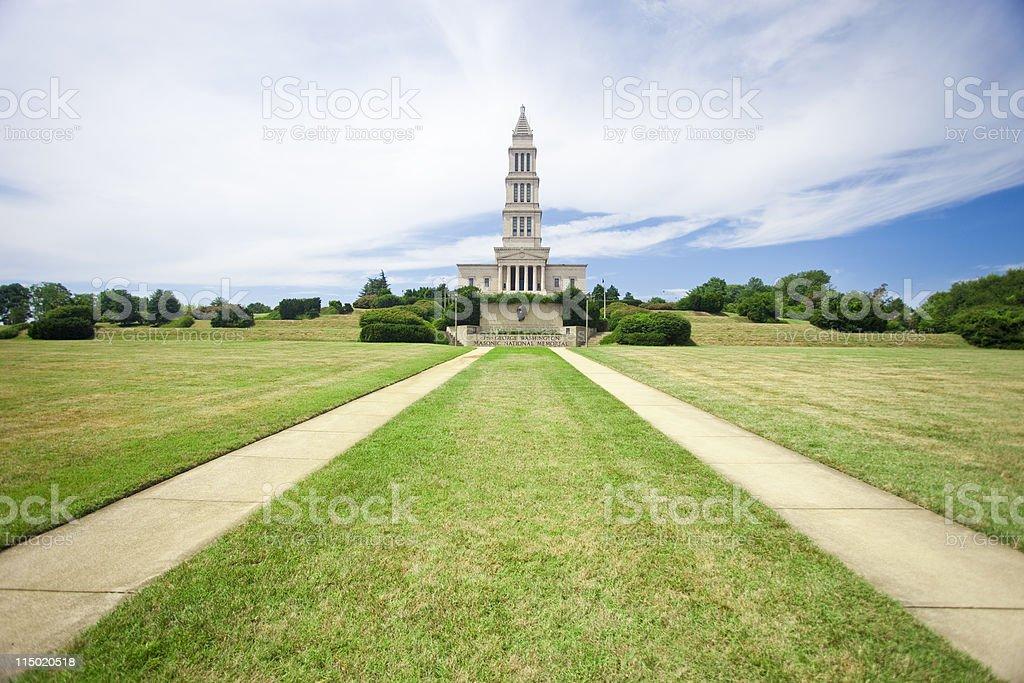 The Masonic Temple stock photo