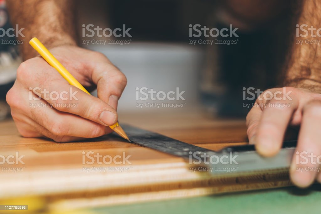 The Master Prepares The Board For The Cutoff Repair And