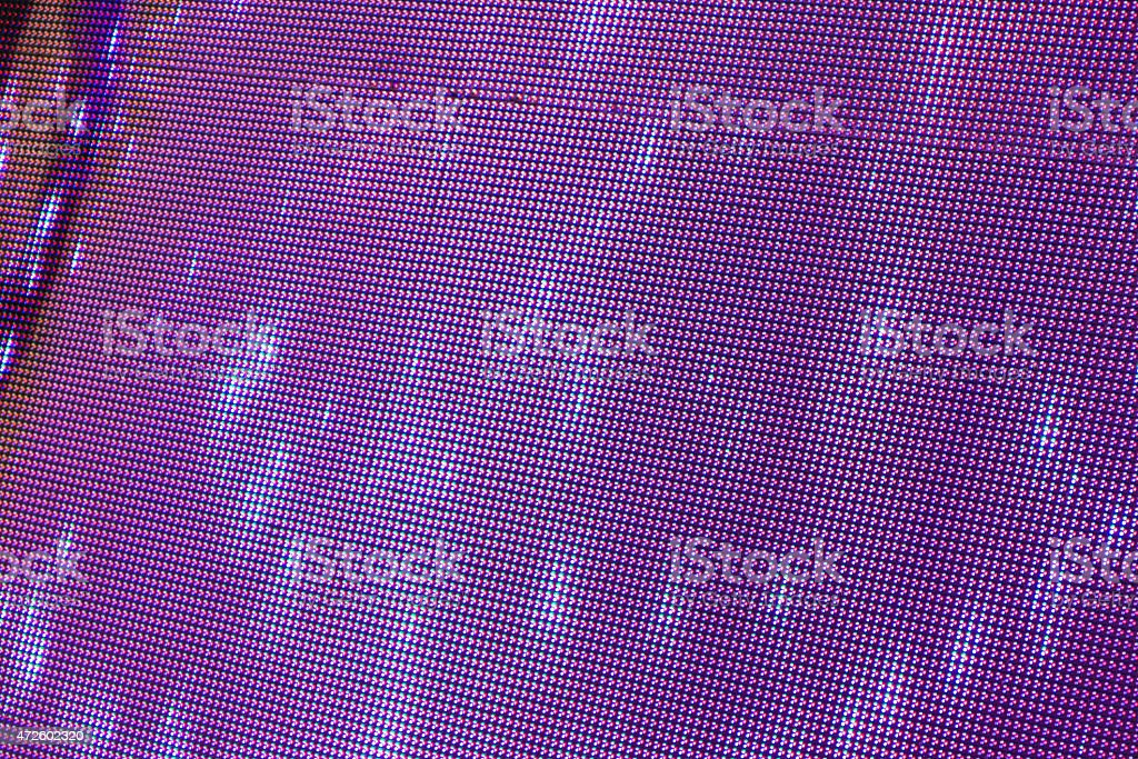 the Matrix of a Screen made of multiple LEDs stock photo