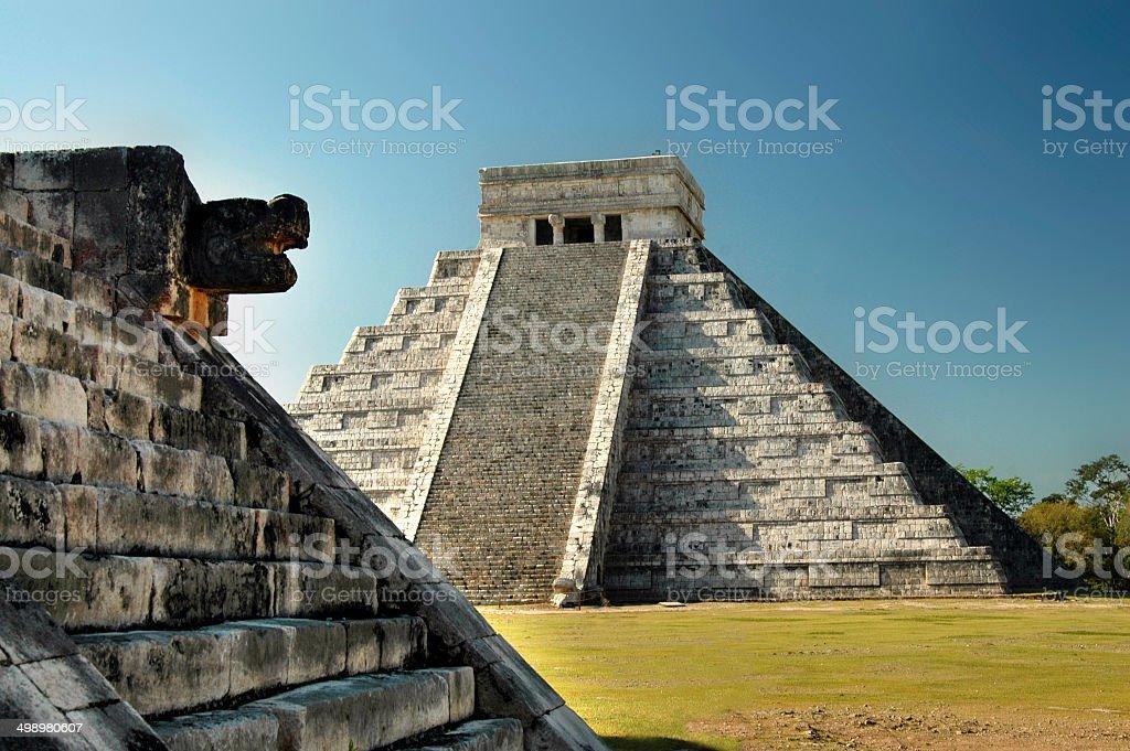 Complexe du temple Maya de Chichen Itza, Yucatán, Mexique - Photo