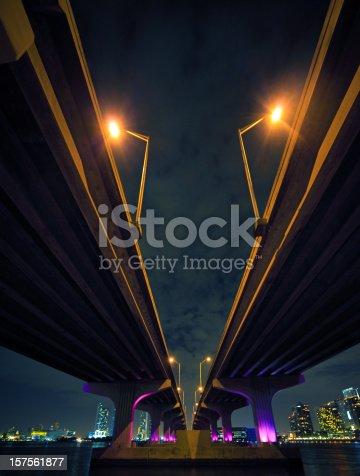 istock The McArthur Causeway in Miami 157561877