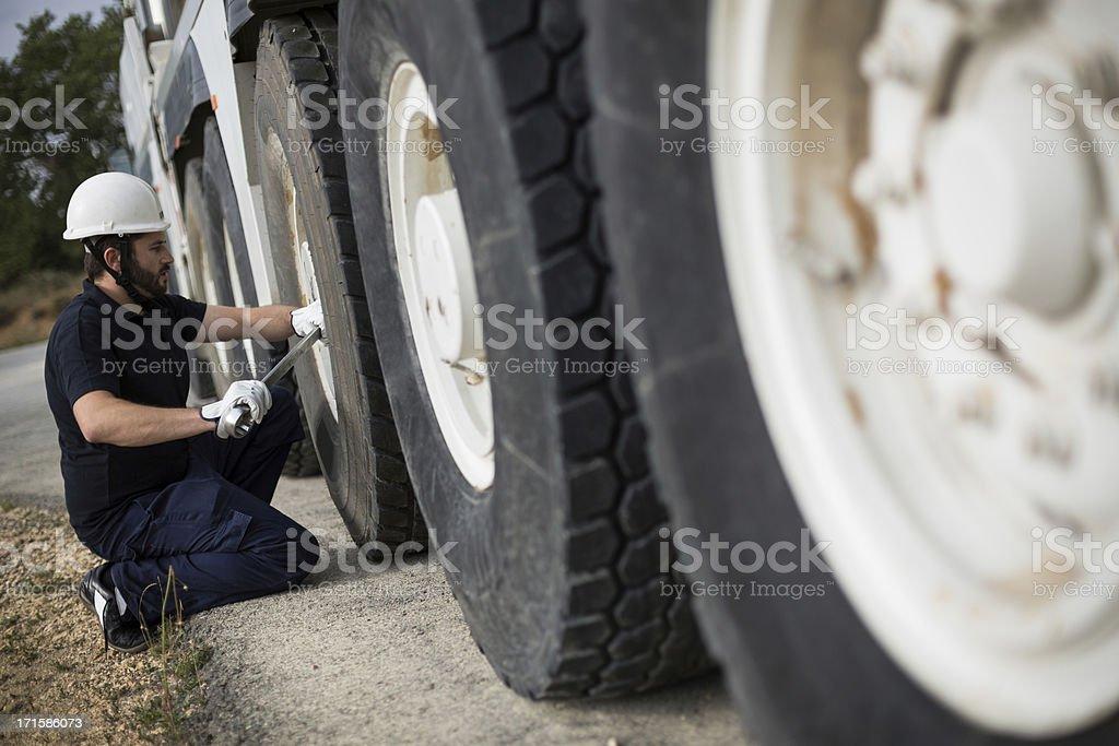 The mechanic. royalty-free stock photo