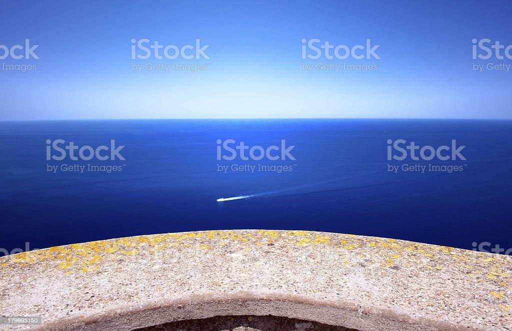 지중해 바다빛 royalty-free 스톡 사진