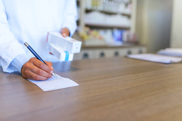 the meds we sell is of the best quality - prescription meds stock pictures, royalty-free photos & images