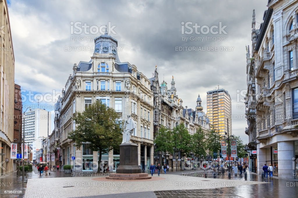 The Meir Antwerp stock photo