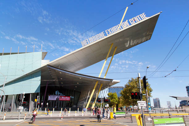 The Melbourne Convention and Exhibition Centre stock photo