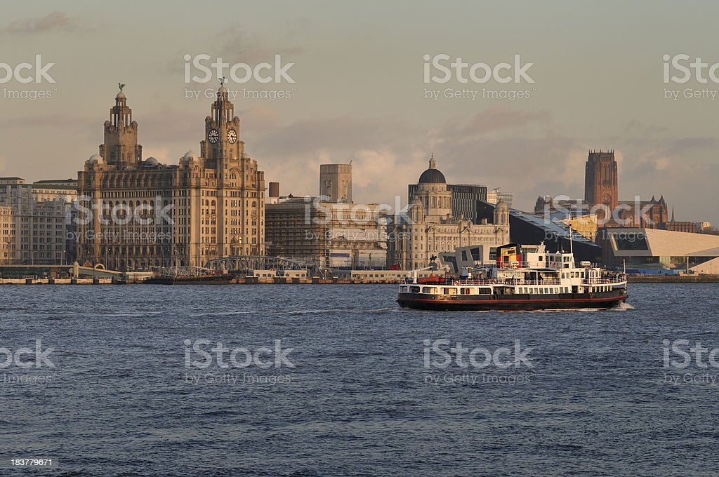 The Mersey Ferry stock photo