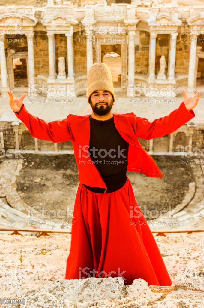 The message...Hierapolis royalty-free stock photo