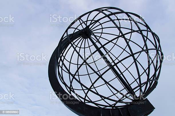 The Metal Globe Stock Photo - Download Image Now