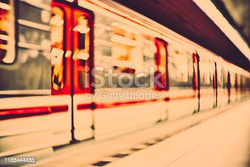 Prague, metro station