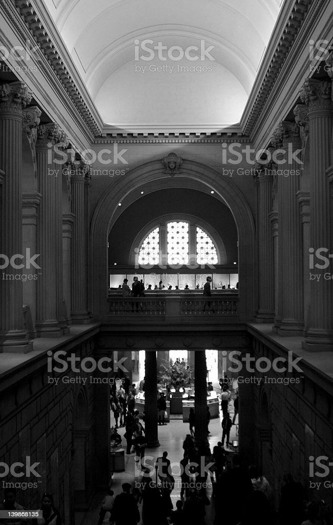 The metropolitan Museum Of Art royalty-free stock photo
