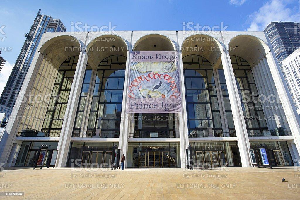 The Metropolitan Opera House stock photo