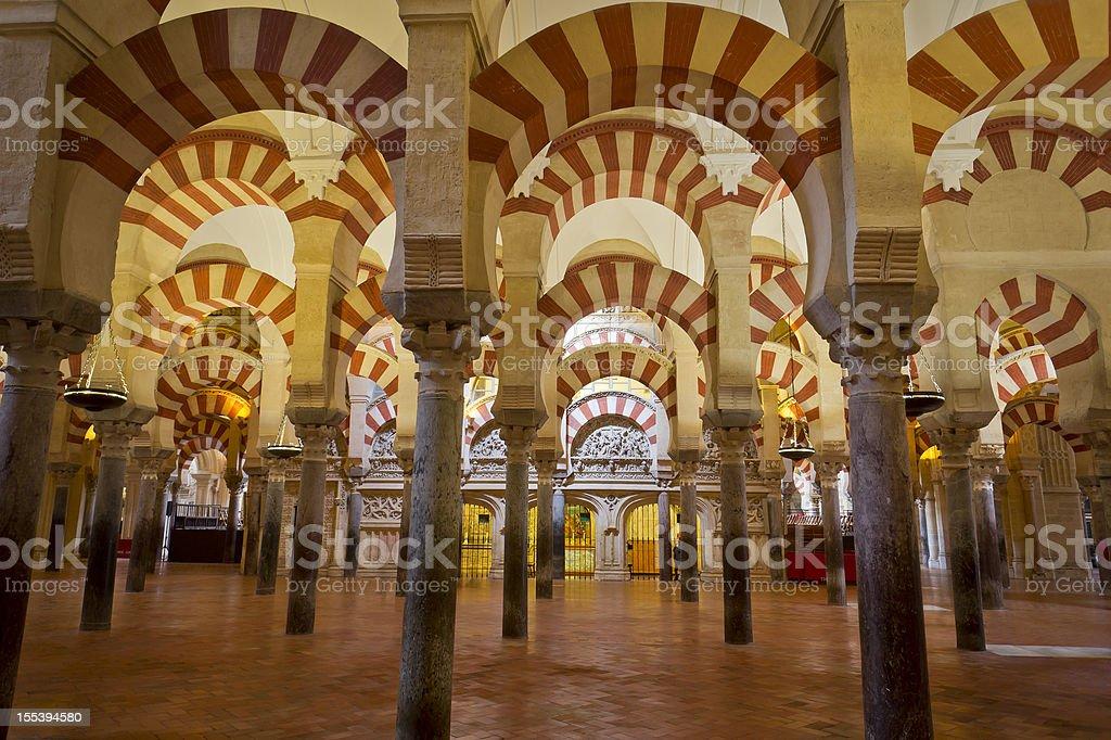 The Mezquita From Cordoba, Spain stock photo