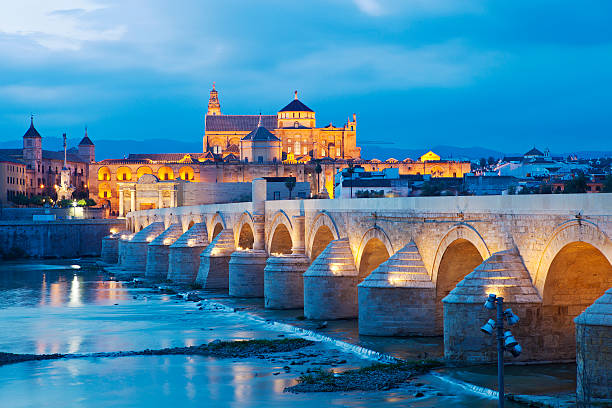 The Mezquita From Cordoba, Spain The Mezquita Cathedral In Cordoba, Spain.  This Was Once A Moorish Mosque But Has Since Been Converted Into A Cathedral. cordoba mosque stock pictures, royalty-free photos & images