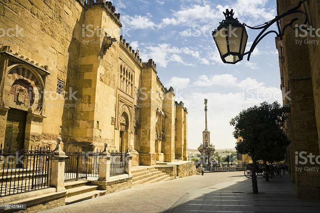 The Mezquita in Corboba royalty-free stock photo