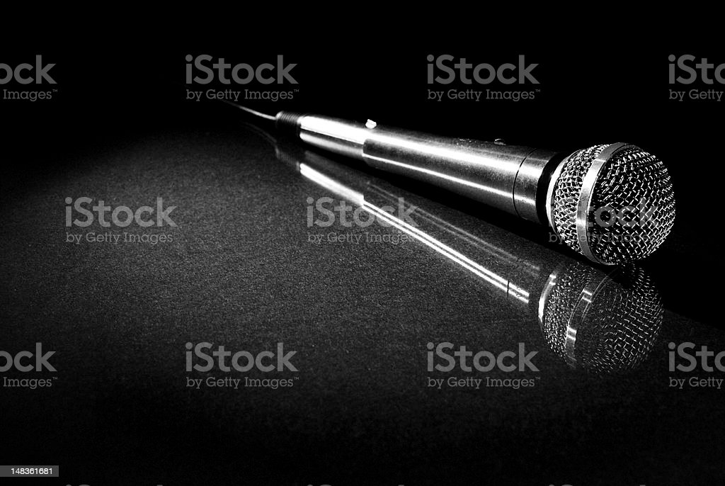 The Mic stock photo