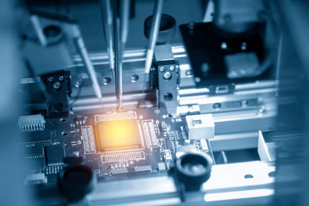 メイン基板のマイクロ チップ - 半導体 ストックフォトと画像