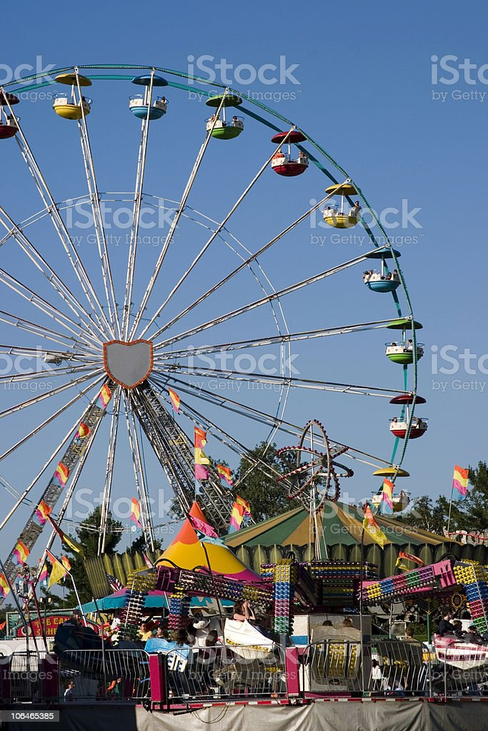 The Midway royalty-free stock photo