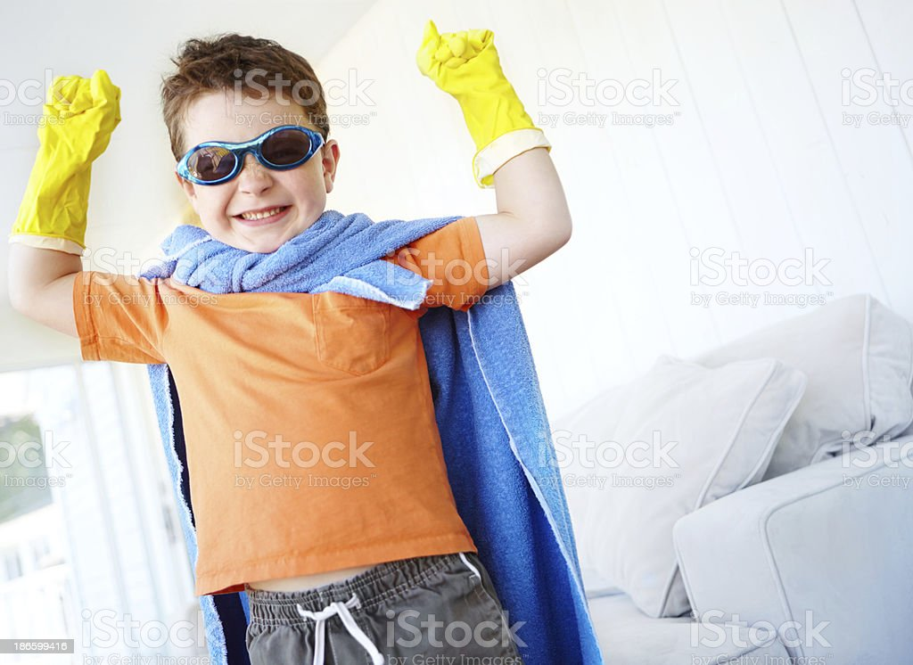 The mighty among us royalty-free stock photo