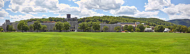 The Military Academy at West Point, New York. stock photo