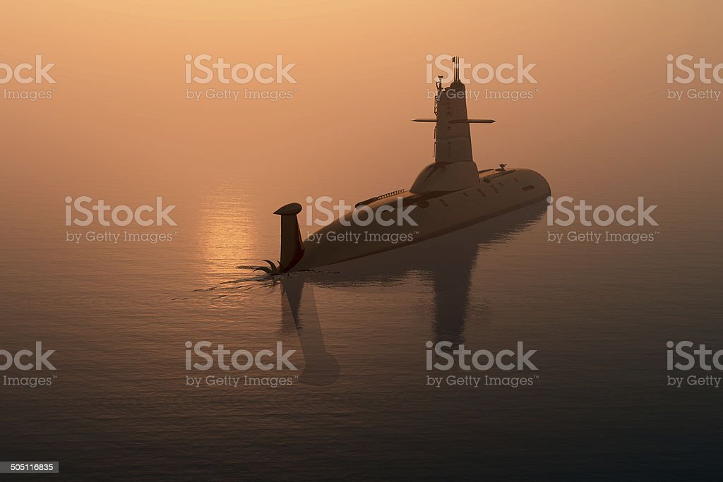 The military ship stock photo