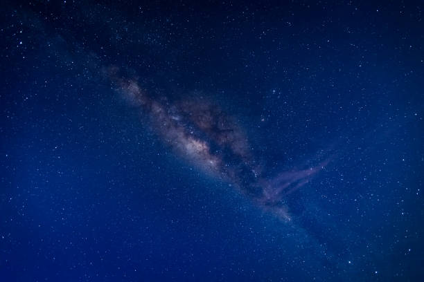 The Milky Way at Dawn stock photo