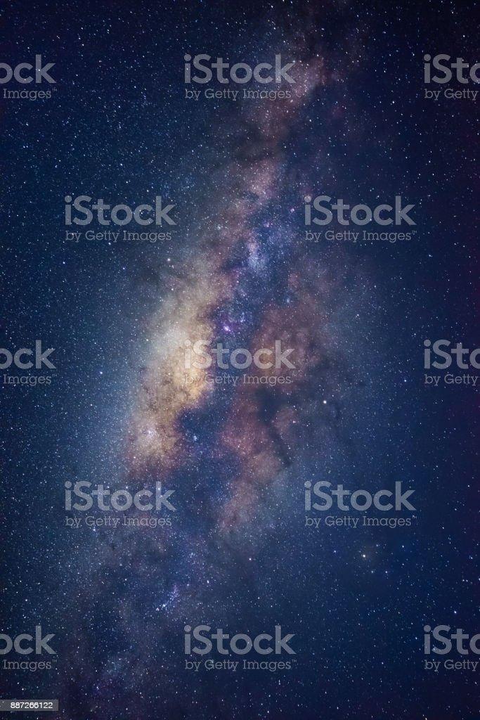 Der Milchstraße galaxis auf einen Nachthimmel – Foto