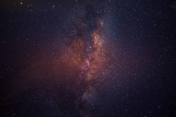 A Via Láctea - foto de acervo