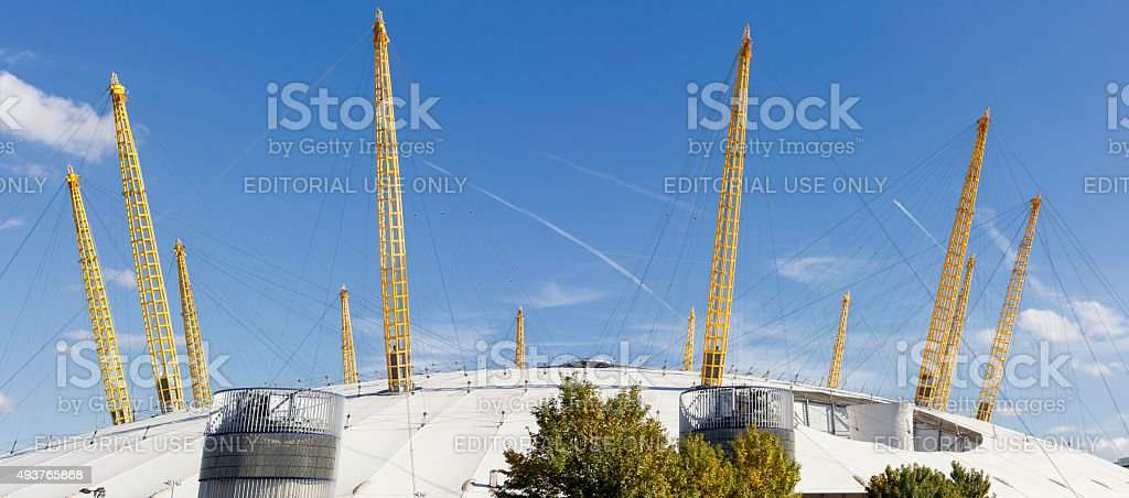The Millennium Dome in London stock photo