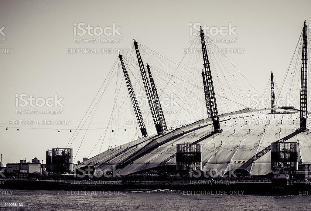 The Millennium Dome stock photo
