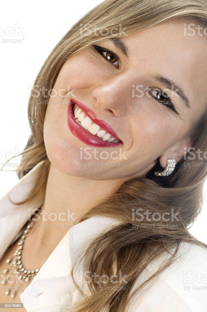 The Million Dollar Smile! royalty-free stock photo