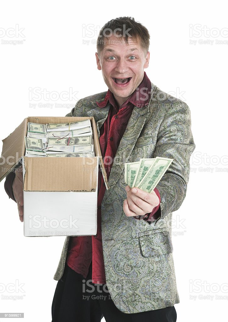 The millionaire royalty-free stock photo