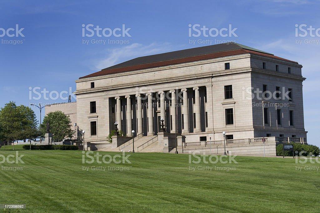 The Minnesota Judicial Center royalty-free stock photo
