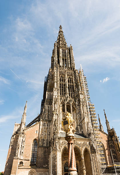 The Minster of Ulm The Minster of Ulm (Germany) ulm minster stock pictures, royalty-free photos & images