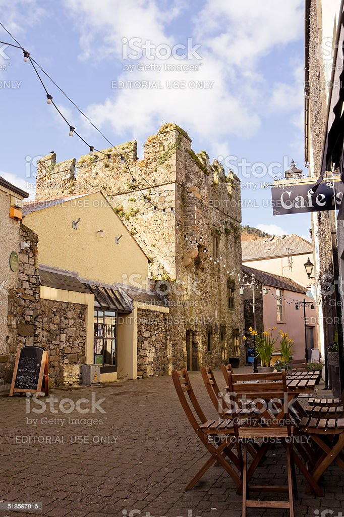The Mint in Carlingford stock photo