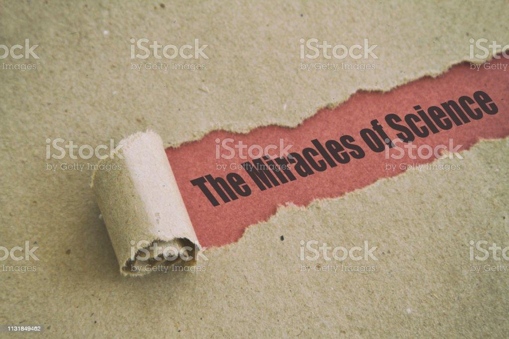 Bilimin mucizeleri stok fotoğrafı
